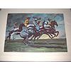 A blacklocks print after John Board Polo Ponies