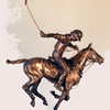 David Geenty English 20th century Riding off a limited edition bronze of 15 each cast individually so allow 12 weeks for delivery Weight 6lbs 2 oz