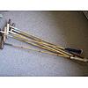 A selection of reproduction decortiave bamboo polo sticks
